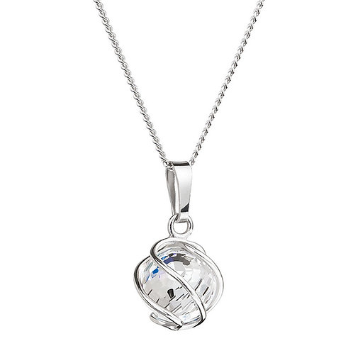 Romantic Beads - Pendant Ag 925/Rh - crystal AB