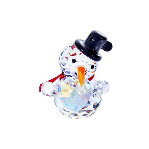 Snowman with a heart. Christmas gift. 1466 70