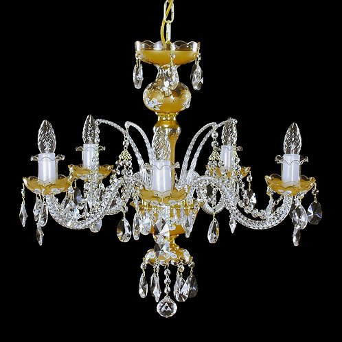 Crystal Chandelier for any room handmade painting for interior L504/5/32 gold