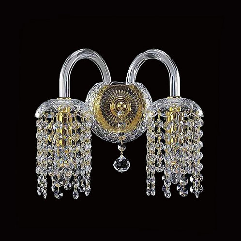 Wall scones N700/2/01 gold crystal