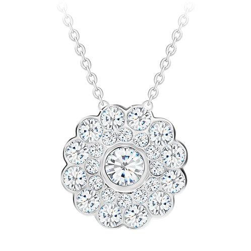 Necklace with cubic zirconia stones  Rosalia
