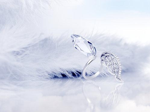 Ring Angel Wings Sterling silver
