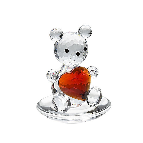Gift with Love. Valentine's Gift. Teddy bear with heart. 1198 63