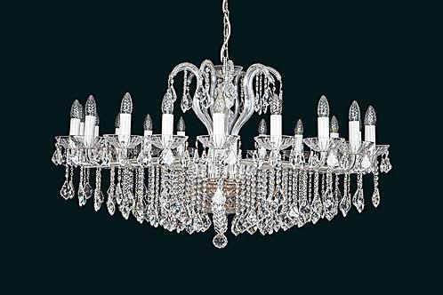"Large modern crystal chandeliers ""Berkana L226/20/04 N"" for dining room"