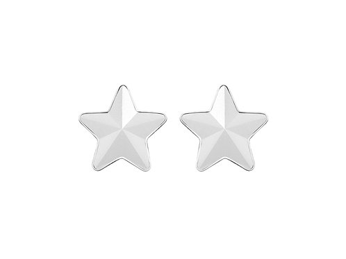 Earrings Virgo  white surgical steel  7343 10