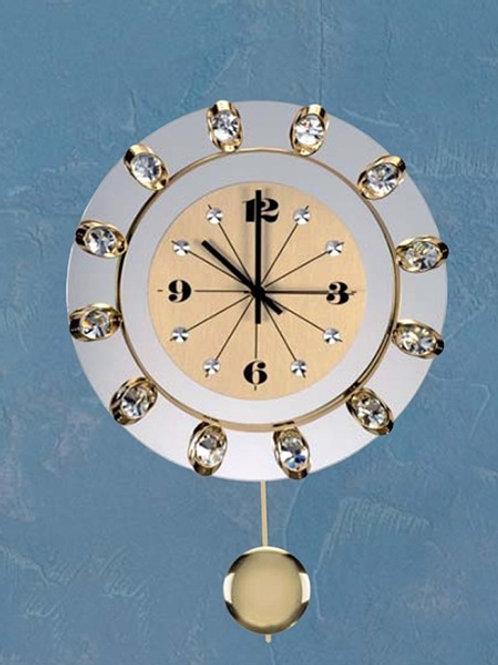 Preciosa - Wall Clock - Crystal  9900851