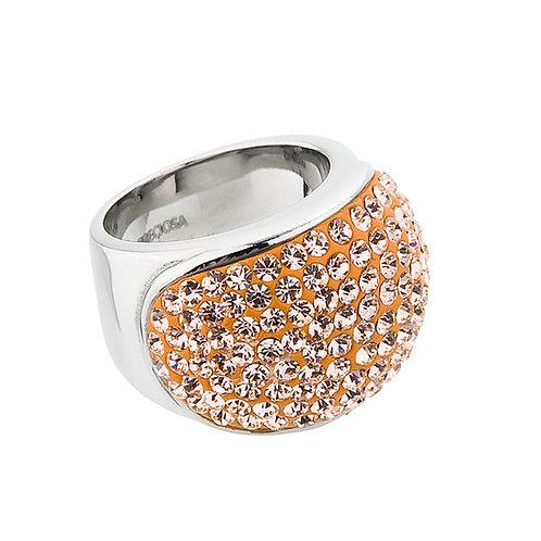 Brillant - Ring  - lt. peach