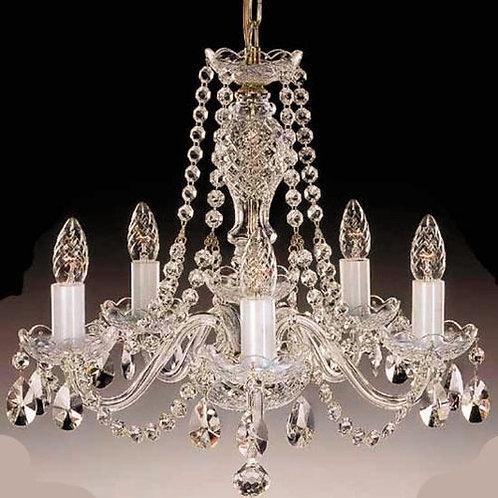 Crystal Chandelier bohemian  Clear Gold L111-5-02