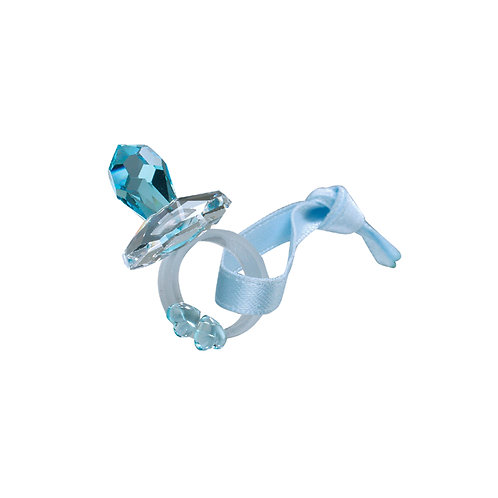 Best Gift for Baby shower. Small Dummy Pacifier blue.