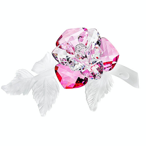 Gift. Home Decor. Crystal flower of Wild Rose