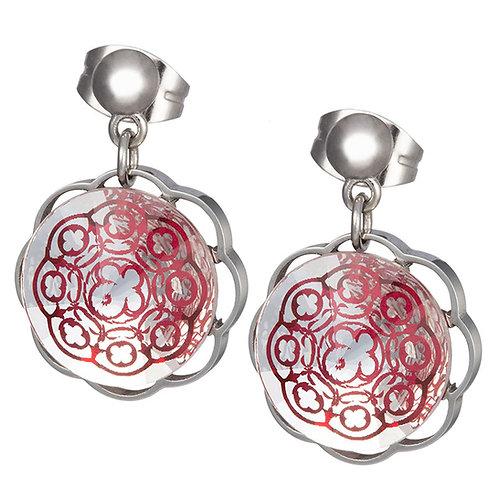Earrings for women Galia Gotic Flower