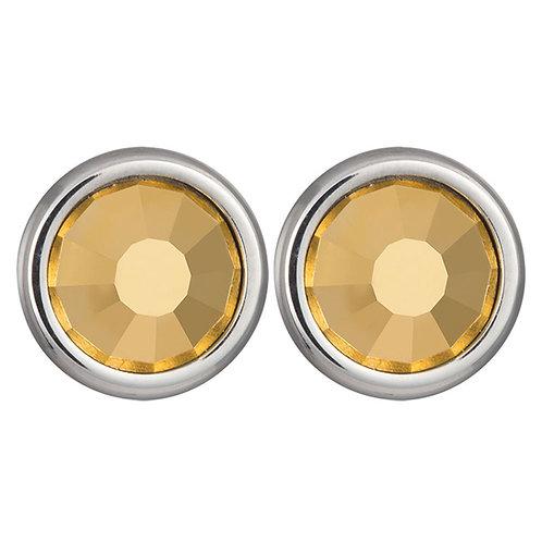 Earrings Magical Spark  Ag 925/Rh  Gold aurum