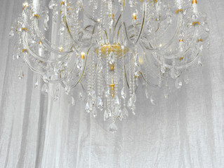 Large Crystal Chandelier for Lovely Home