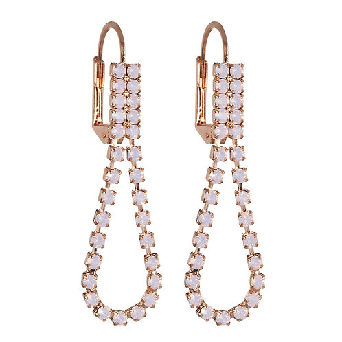 Earrings Serena Opal Rosa