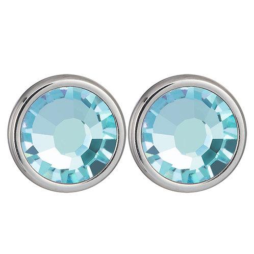 Carlyn - Earrings - aqua
