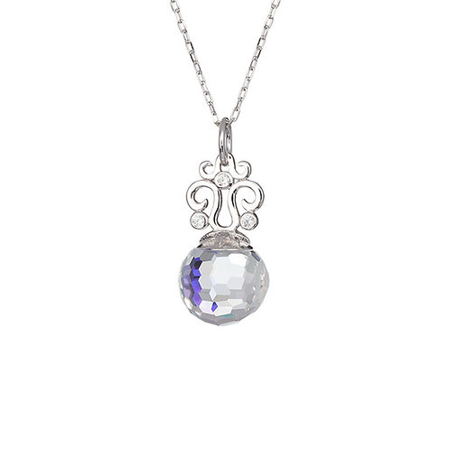 Romantic Gem - Pendant Ag 925/Rh - crystal AB