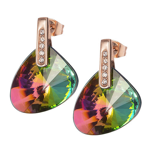 Brilliant Stone - Earrings - vitrail medium