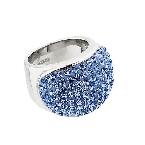 Brillant - Ring  - lt. sapphire