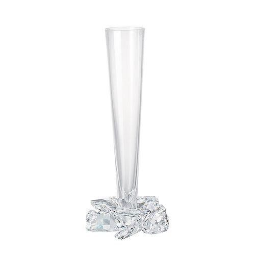 Vase. Large Crystal vase. Rose. 1365 00
