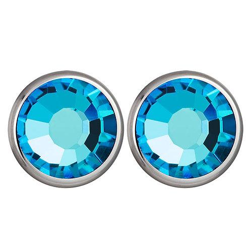 Carlyn - Earrings - bermuda blue