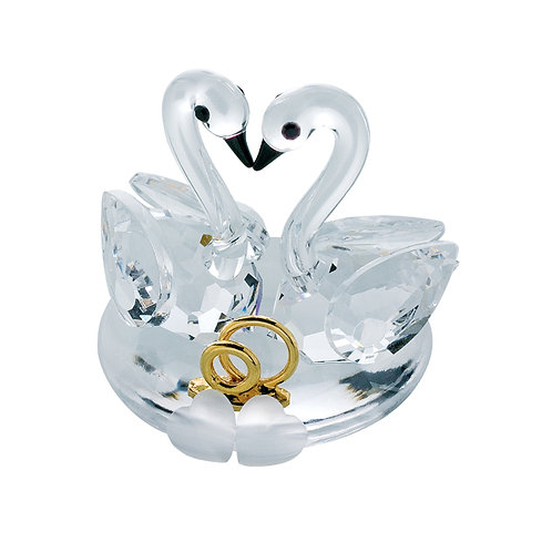 Collection Crystal Miniature. Nuptial Swan. 1078 01
