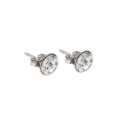 Earrings Sparkling Shine  silver Ag 925/Rh crystal AB