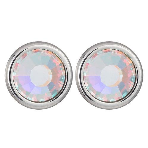 Earrings Magical Spark Ag 925/Rh crystal AB