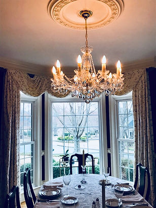 dinning room crystal chandelier 12 lamps