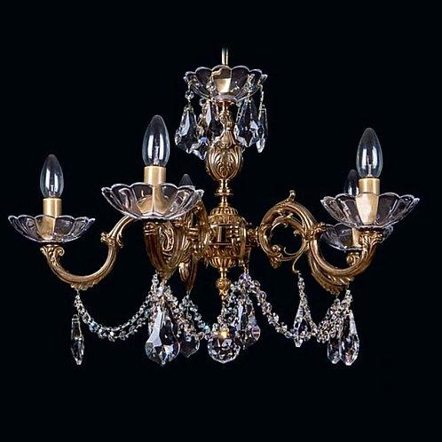 Gold brass chandelier L867/5/09