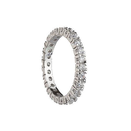 Créativité - Ring Ag 925/Rh - white