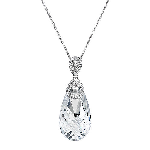 Pendant Perfect Brilliance silver Ag 925 / Rh  colorless crystal 6784 00