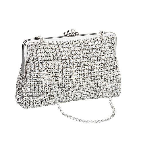 Crystal Clutch Handbag Evening