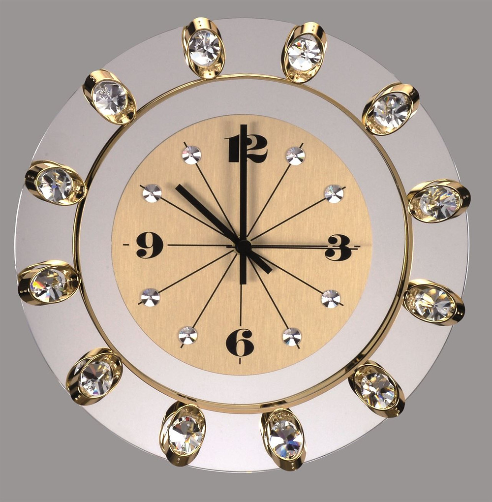 Contemporary interior wall clocks