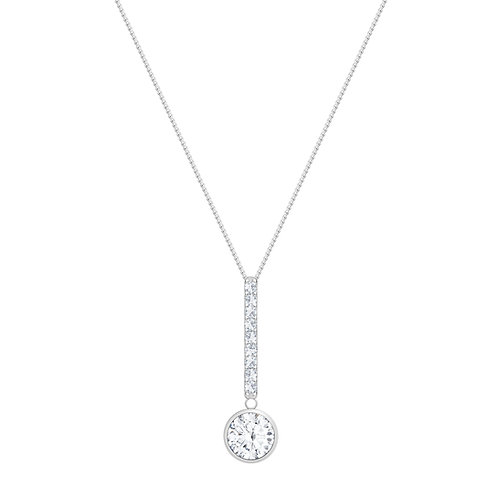 Pendant Necklace for women sterling silver Lucea in a variety of colors