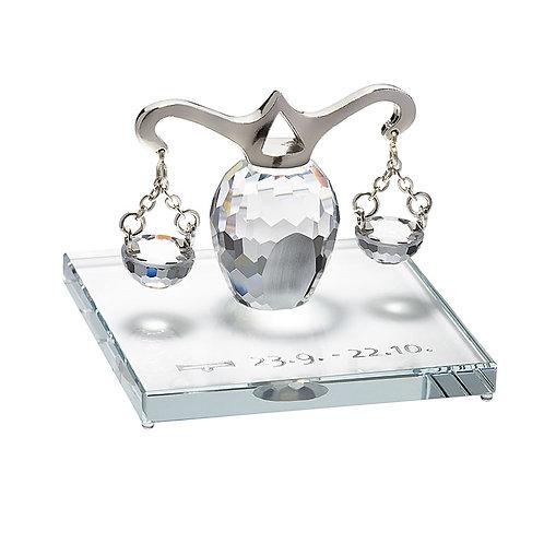 Zodiac - Libra. Crystal figurine. 1200 90