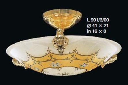 "Small shell chandelier ""Berkana L991/3/00"""