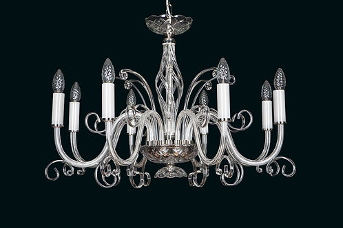 Contemporary crystal chandelier L416/8/00 N
