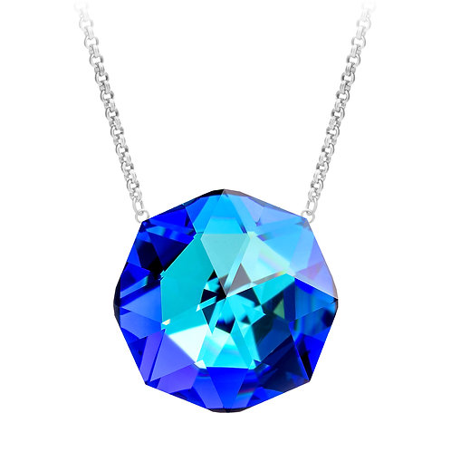 Necklace gold  stainless steel Helios Blue Moon