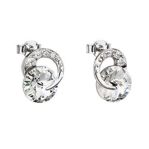 Earrings for girls and women Gentle Beauty crystal