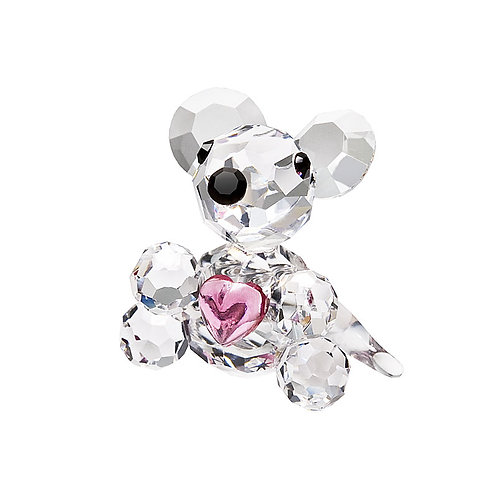 Mouse. Miniature crystal Mouse. Baby girl gift.