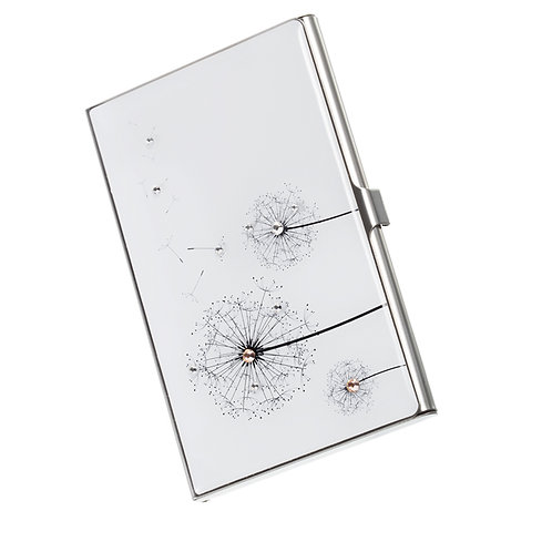 Dandelion - business card holder