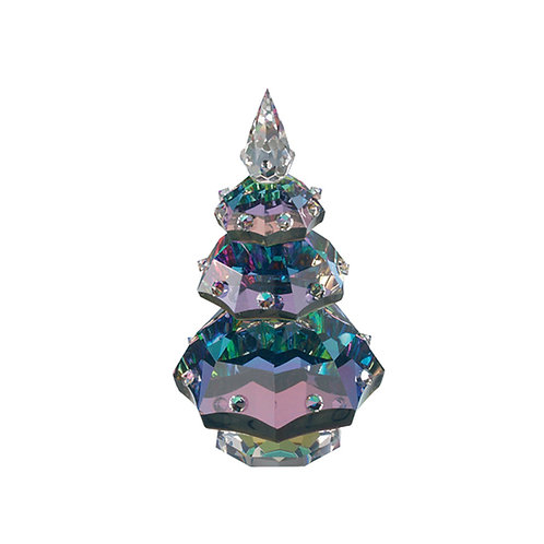 Christmas Tree. Crystal Christmas gift. 0873 41