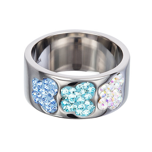 Butterfly - Ring - lt. sapphire