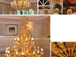 Private residence jewellery lighting