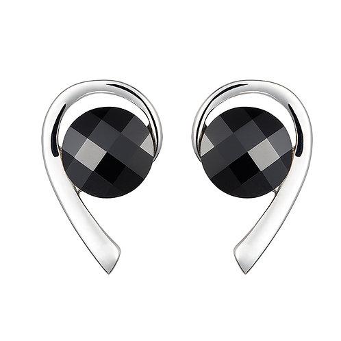 Carissa - Earrings - black