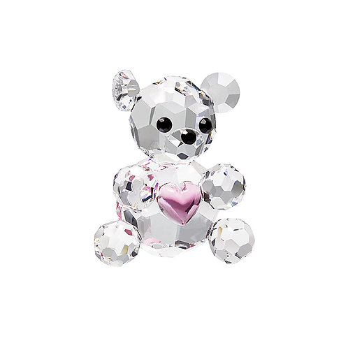 Gift. Miniature Baby Bear with pink heart. 0856 90