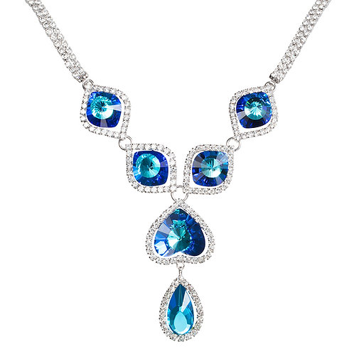 Necklace Beatrice Bermuda Blue