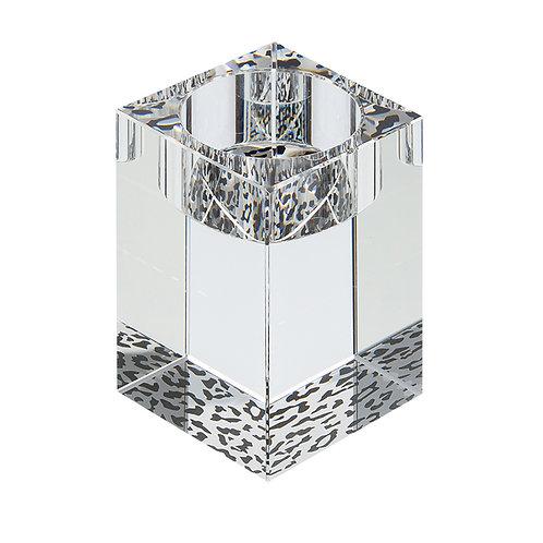 Candle holder. Cheetah ornament. Medium. 1383 00