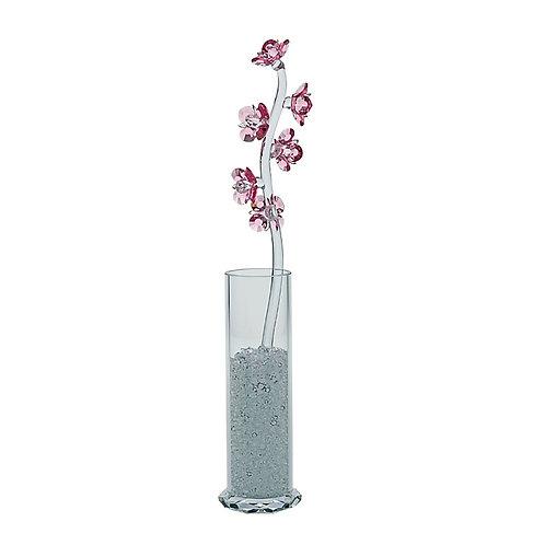 Gift. Crystal flower. Pyrola. Pink. 1178 69