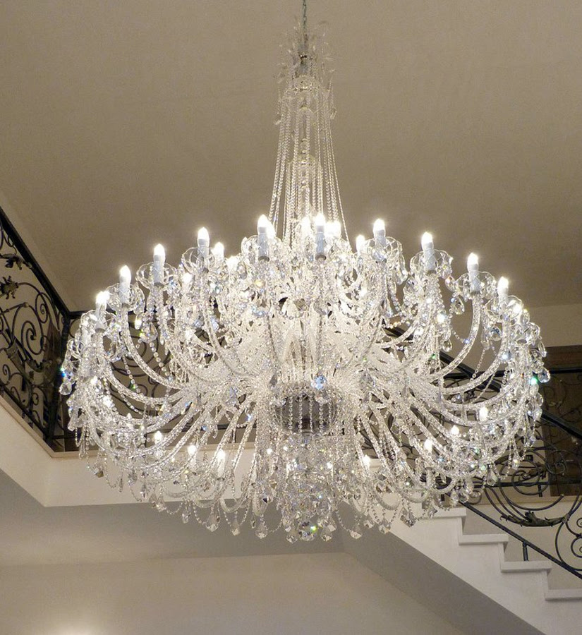 Large and super large chandelier